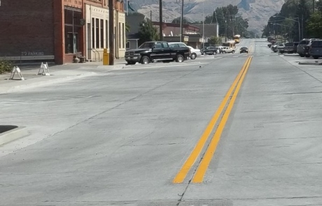 2nd Street, Asotin, Washington Grant Administration, Site Design and Project Management by Keltic Engineering