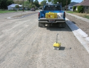 Columbia Street Compaction Testing - Pomeroy, Washington