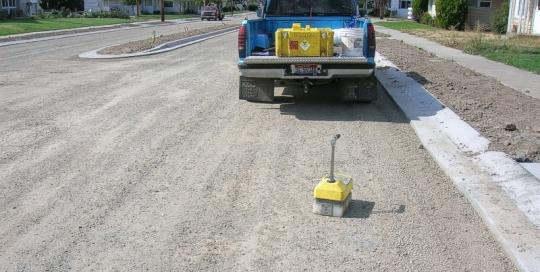 Columbia Street Compaction Testing - Pomeroy, Washington
