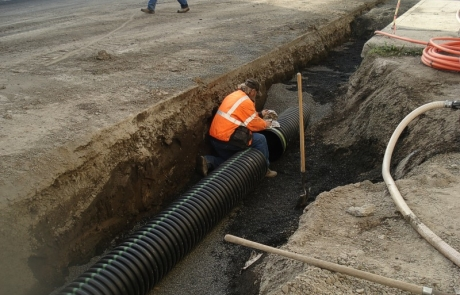 Town of Garfield Stormdrain Soil Remediation Project