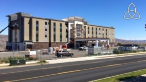 Hampton Inn Hotel Site Design
