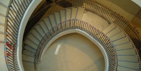 U.S. Capitol Visitors Center Spiral Staircase – Washington D.C.