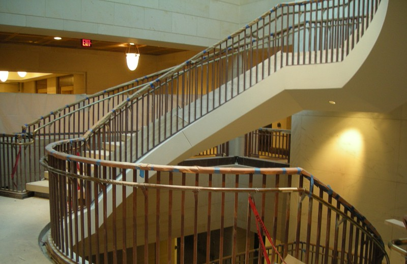 U.S. Capitol Visitors Center Spiral Staircase – Washington D.C.