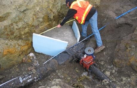 Nez Perce Plaza Thrust Block Inspection – Lewiston, Idaho