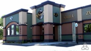 Zany Graze Restaurant Site Plan Development