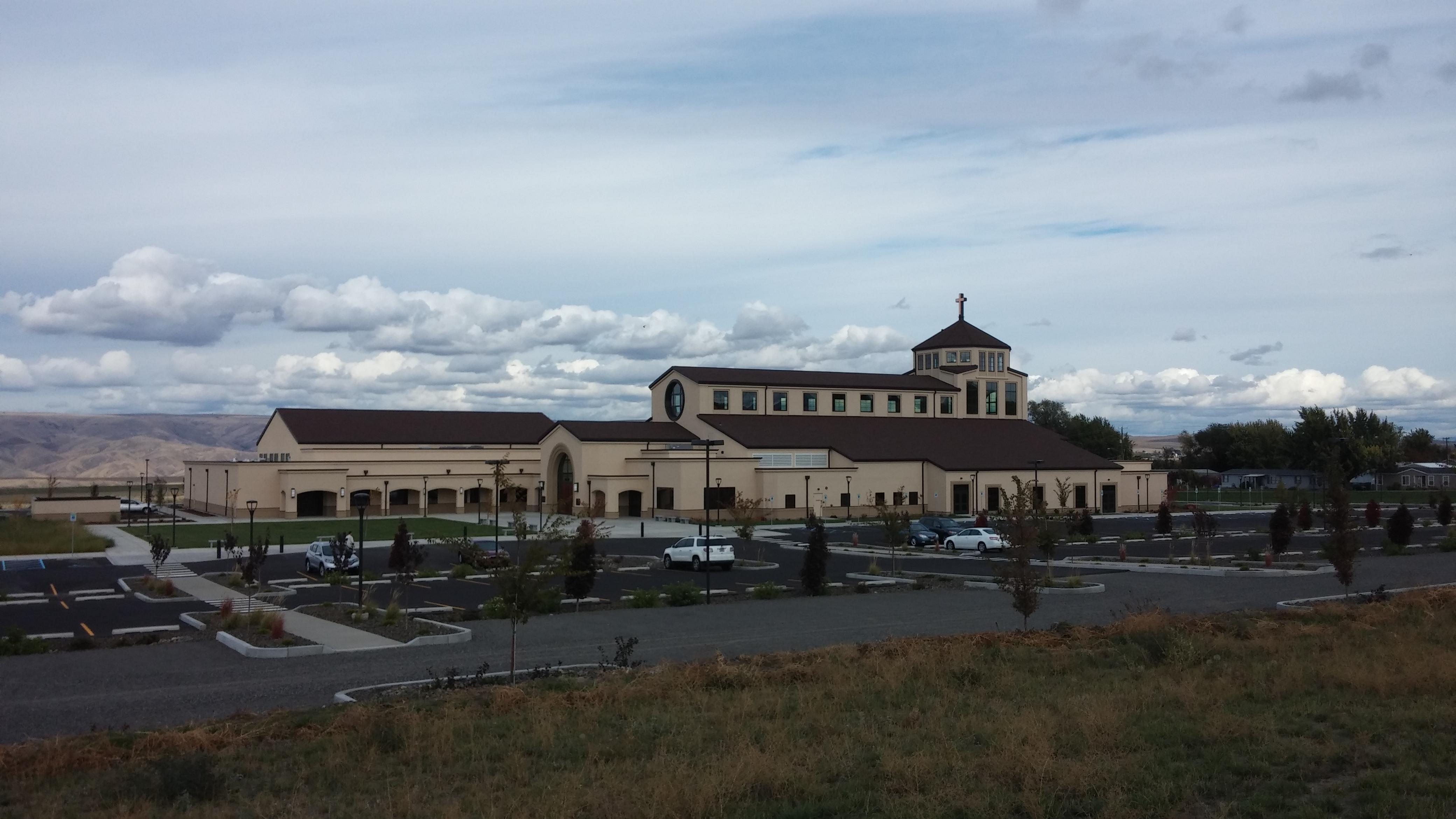 All Saints Catholic Church, Lewiston, ID Site Design